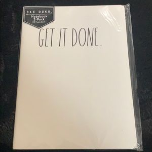 Rae Dunn Notebook 2-Pack 80 Pages Each📒